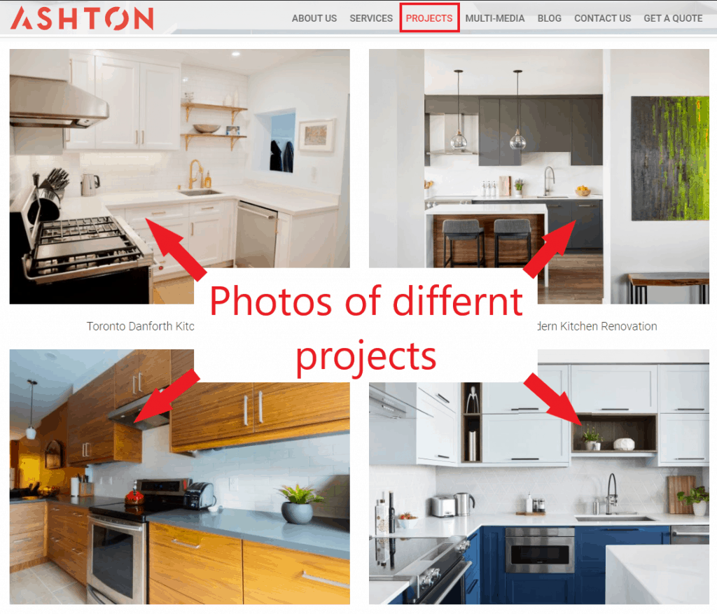 benefits of having a website for small business portfolio for renovations
