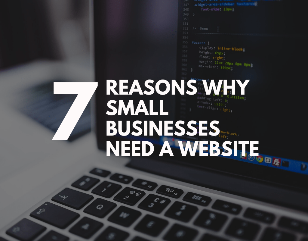 Why Small Businesses Need A Website featured image
